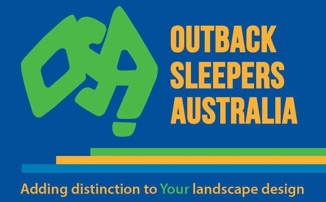 The Strong Retaining Wall outback sleepers